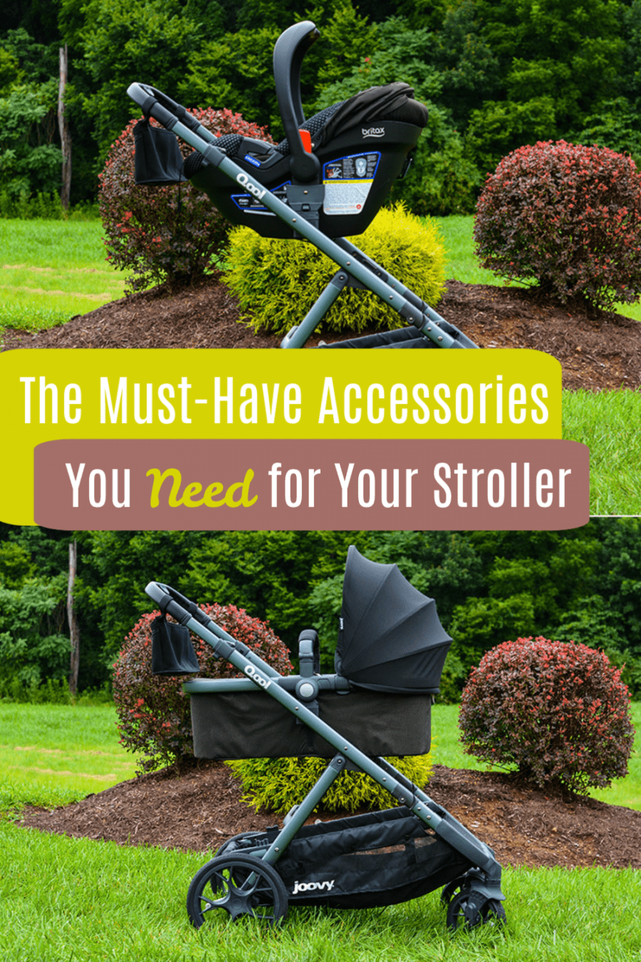 The Must-Have Accessories you NEED for your stroller!