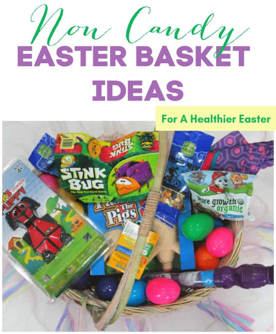 Non Candy Easter Basket Ideas {For A Healthier Easter + MORE FUN!}