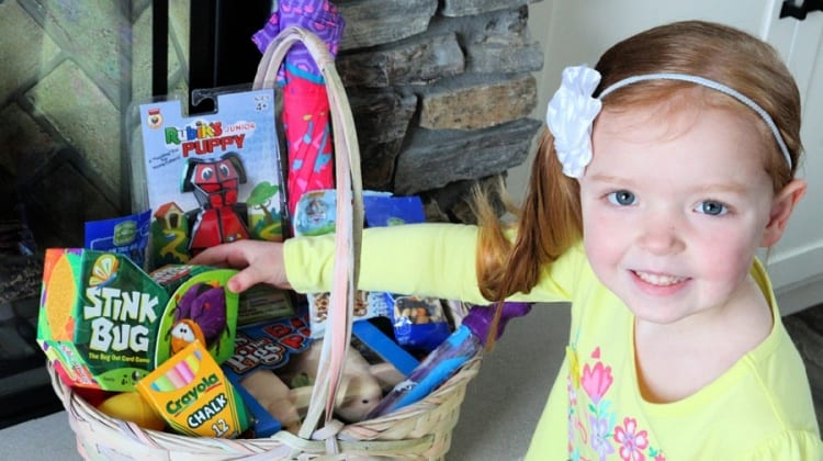 Non Candy Easter Basket Ideas {For A Healthier Easter} + GIVEAWAY!