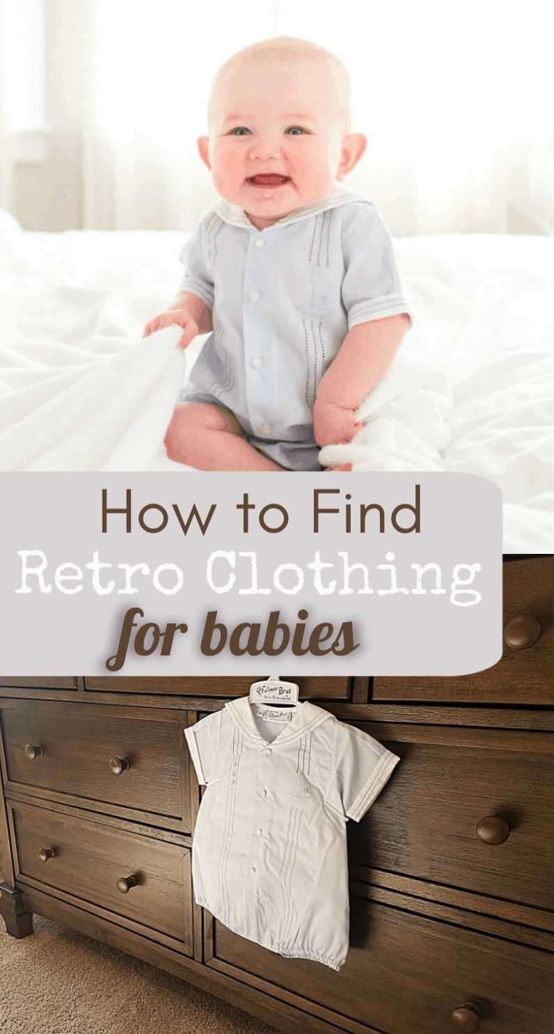 How to find retro baby clothing