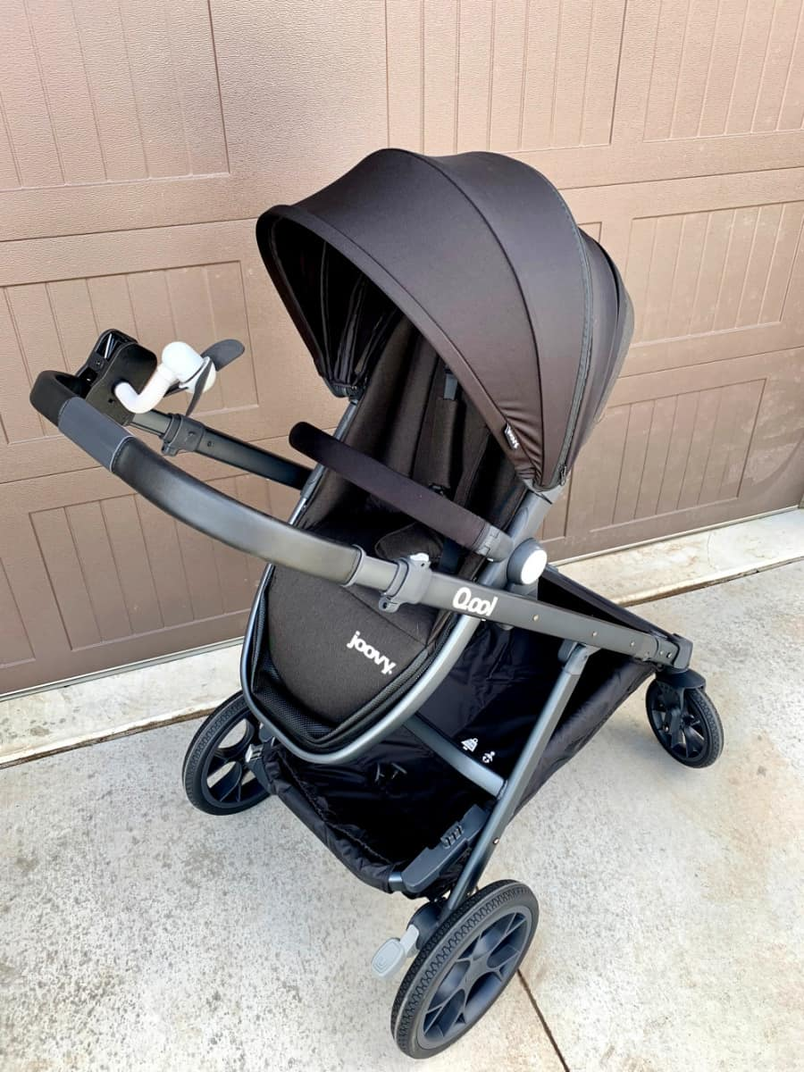 Preparing The Stroller For Baby