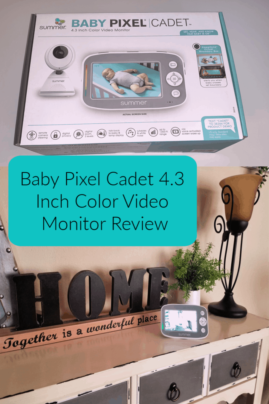 Baby Pixel Cadet 4.3 Inch Color Video Monitor Review
