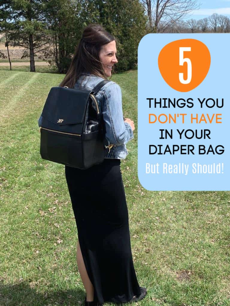 5 Things You Don't Have in Your Diaper Bag, but Really Should!