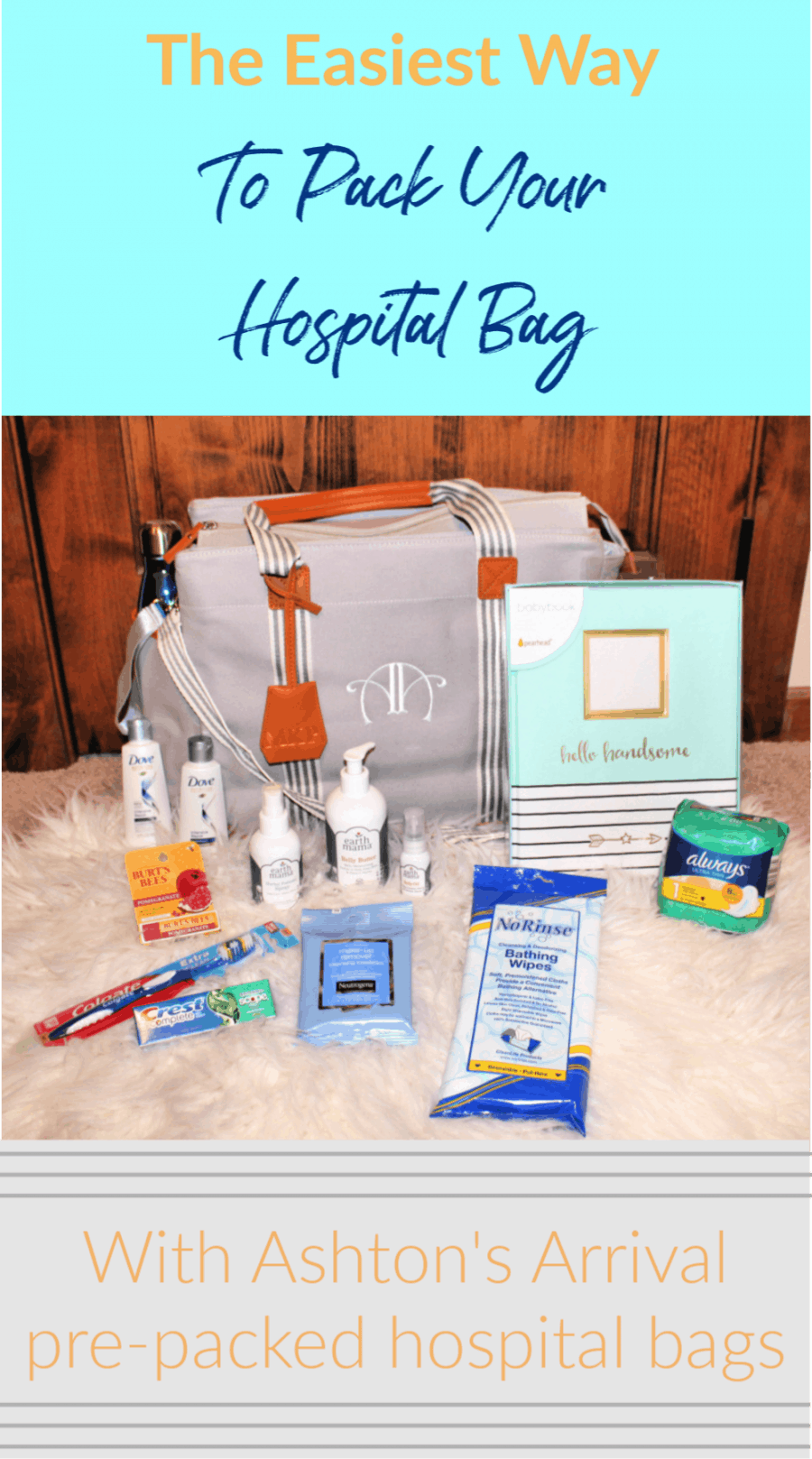 The Easiest Way To Pack Your Hospital Bag