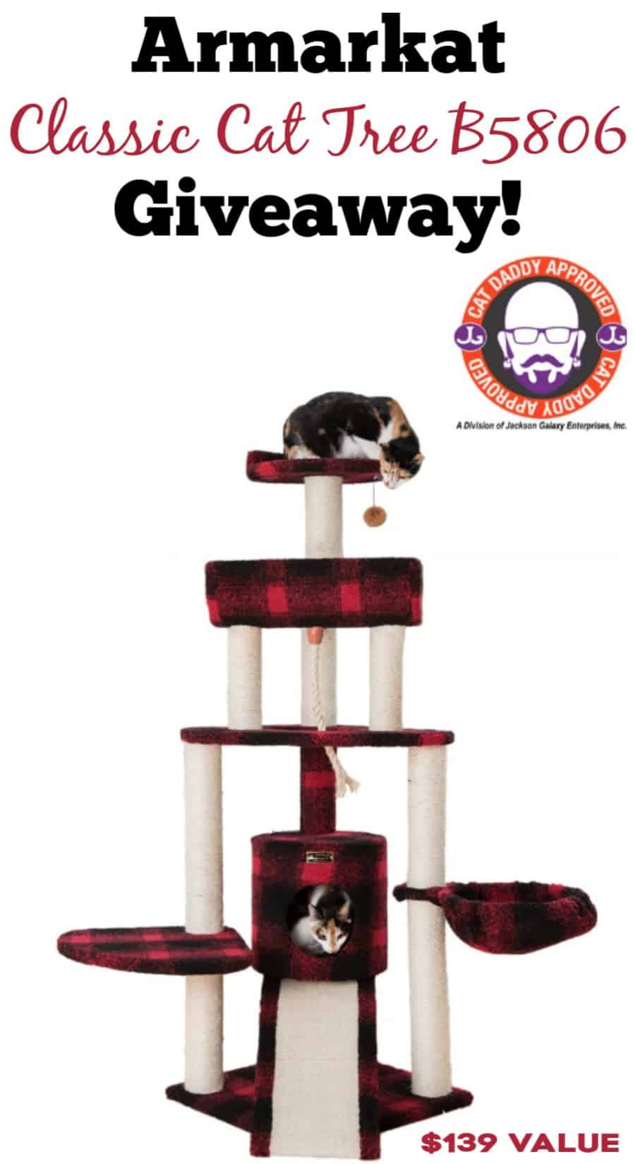 Armarkat Cat Tower Giveaway