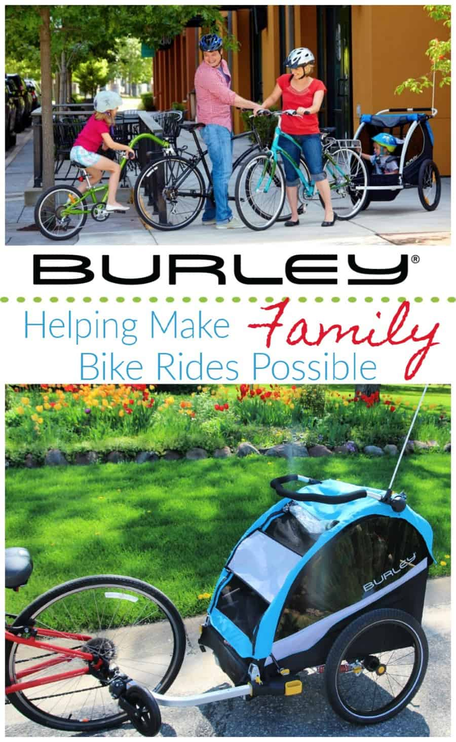 a868363f236 Burley D'Lite X Review {Making It Easy To Accomplish Family Bike Rides}