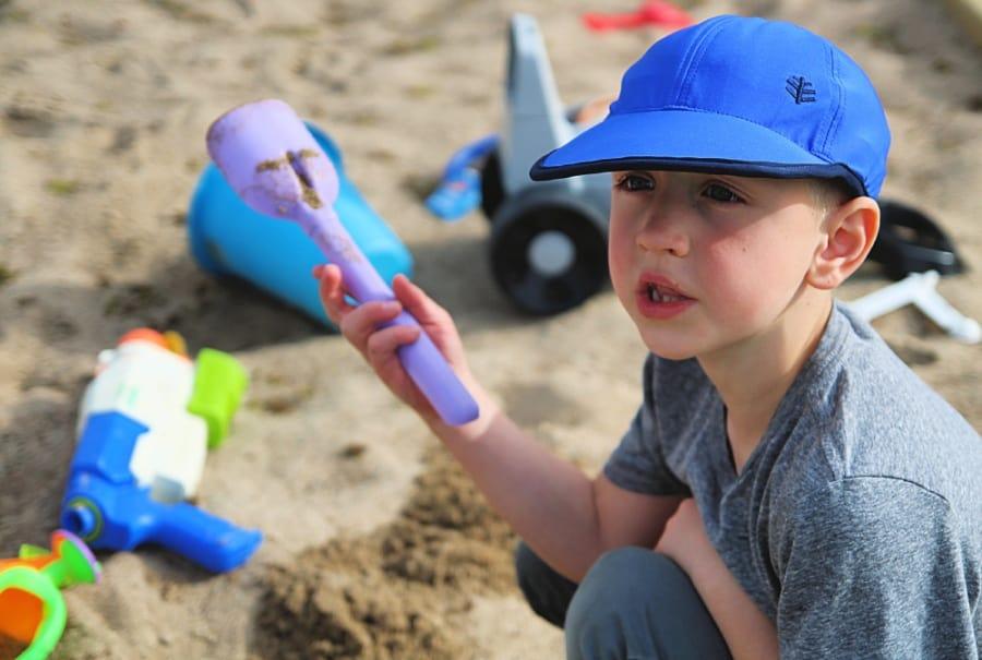 Coolibar Sun Hat - Kids Wave Rider Sports Cap