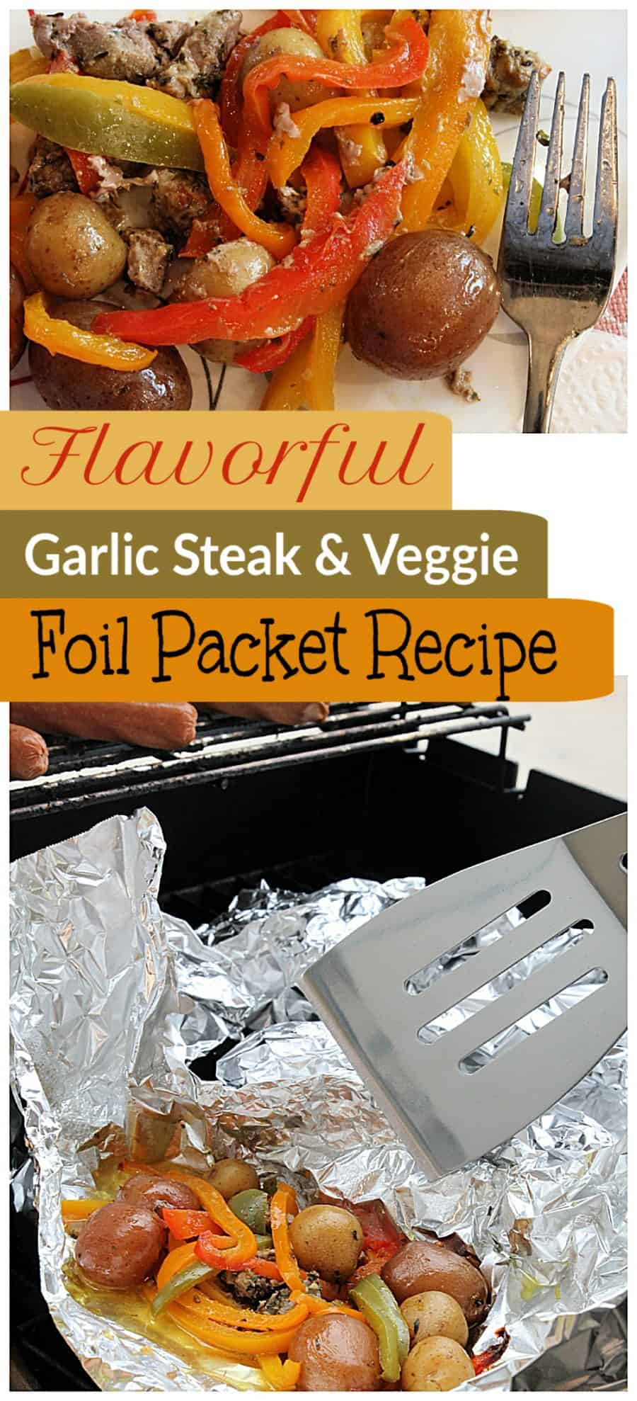 Flavorful Garlic Steak And Veggies Foil Packet Grill Meal Recipe