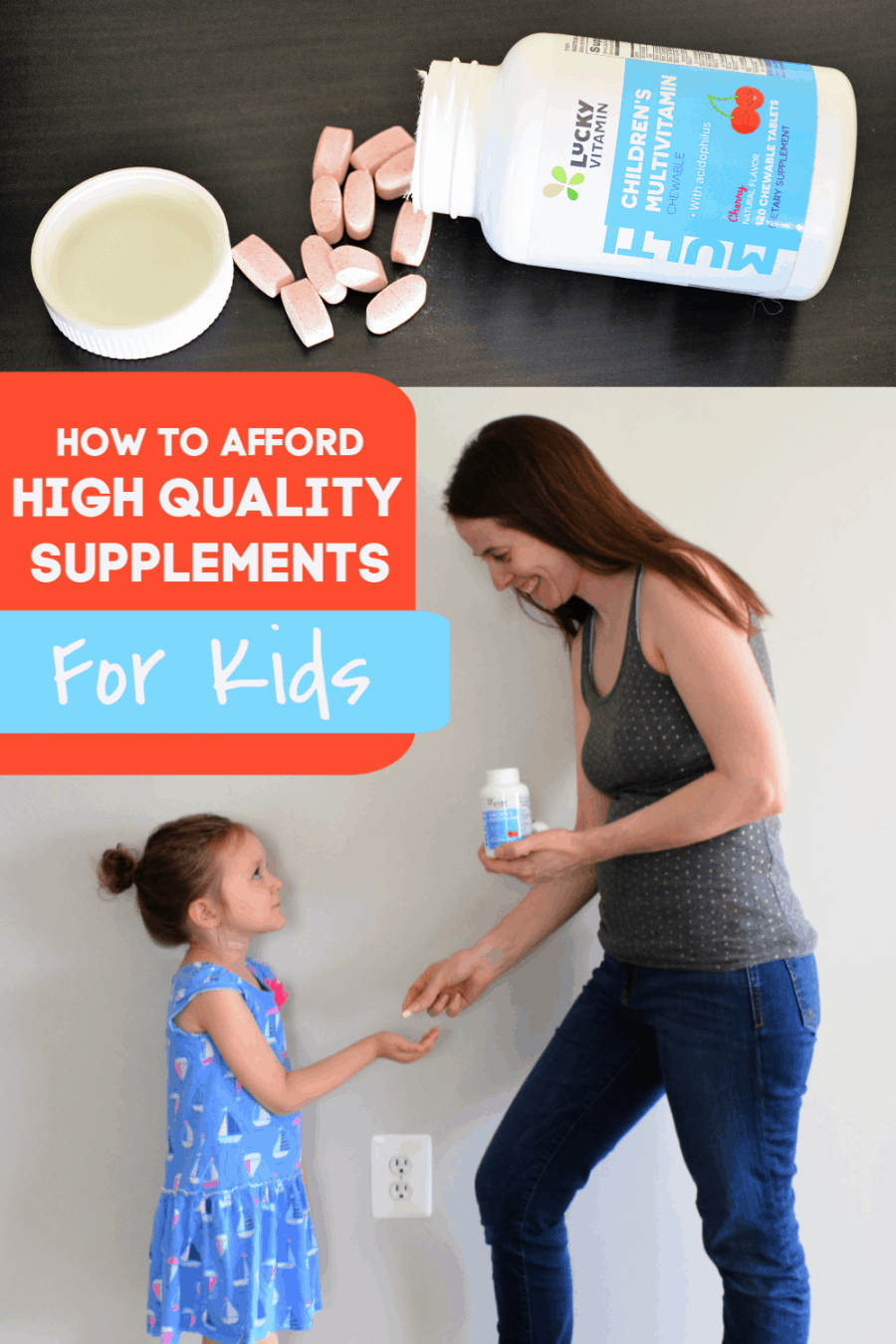 How to afford high-quality supplements for kids