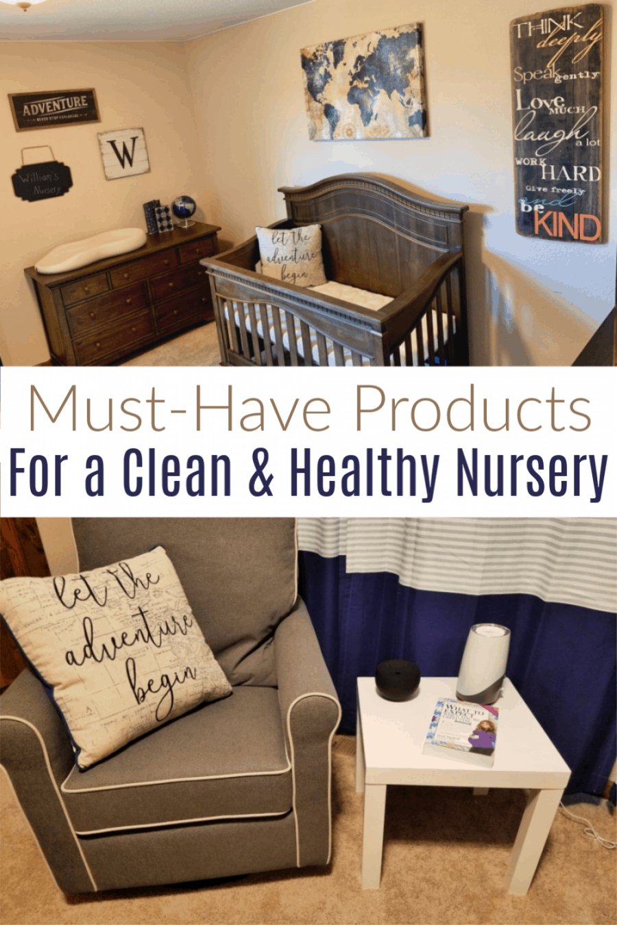 Must have products for a clean and healthy nursery