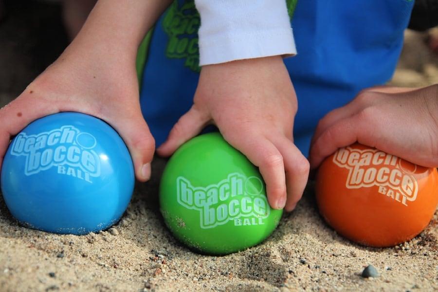 SeaTurtle Sports Mini Beach Bocce Ball