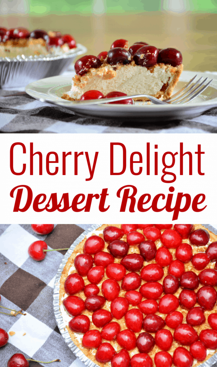 An easy and delicious cherry dessert using either fresh cherries or cherry pie filling. A great no-bake recipe for summertime or holiday gatherings.