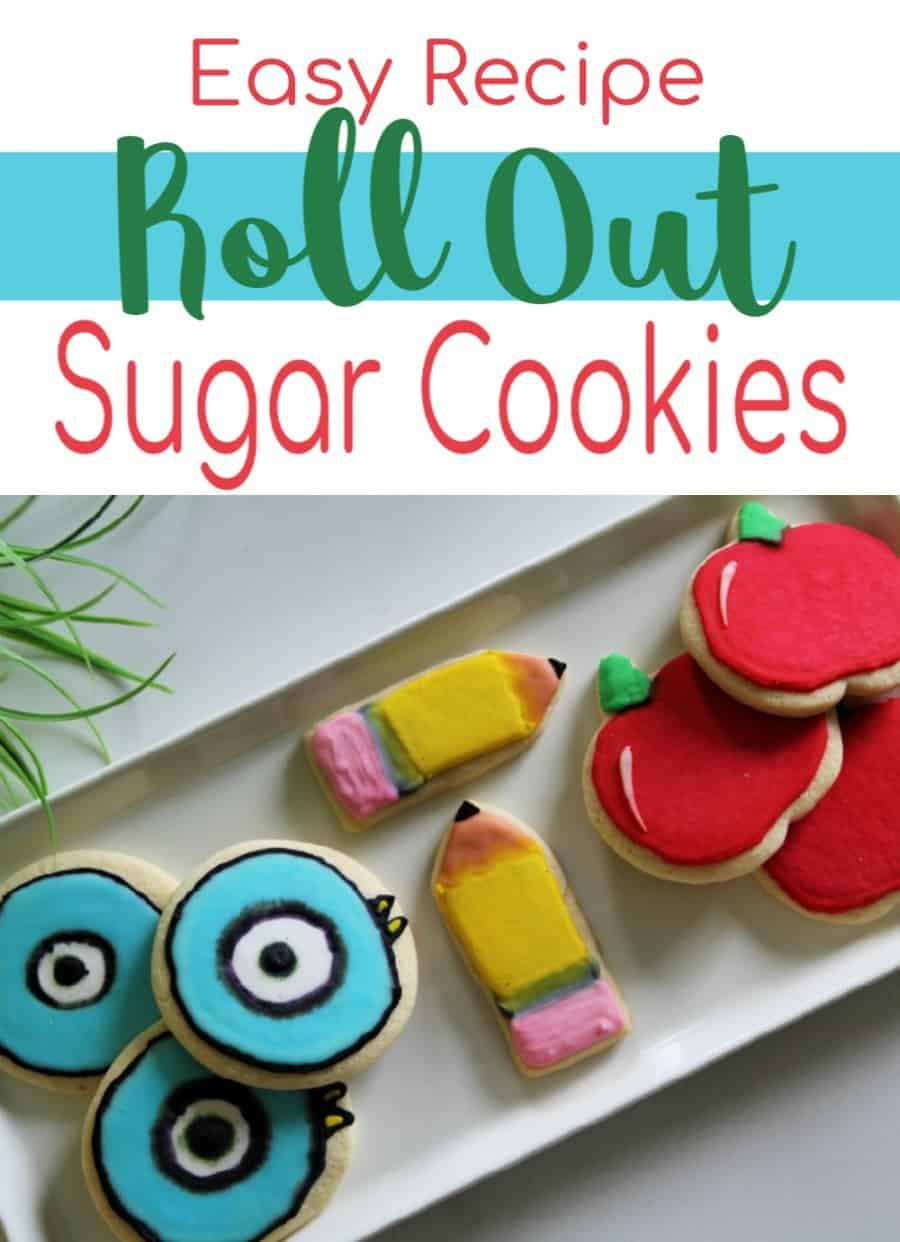Easy Roll Out Sugar Cookies Recipe