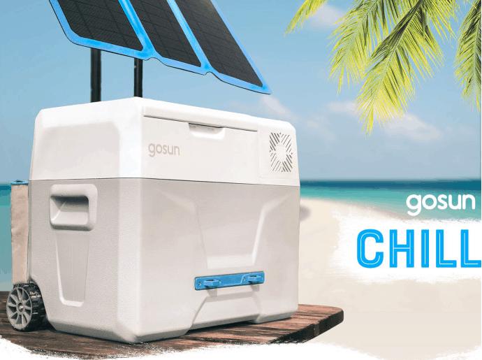 Go Sun Chill Solar Cooler