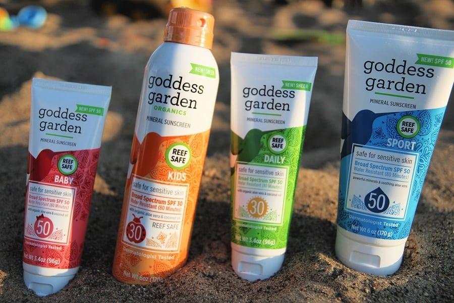 Beach Day Must Haves That You'll Go Crazy For - Goddess Garden Organics Sunscreen / Sunblock