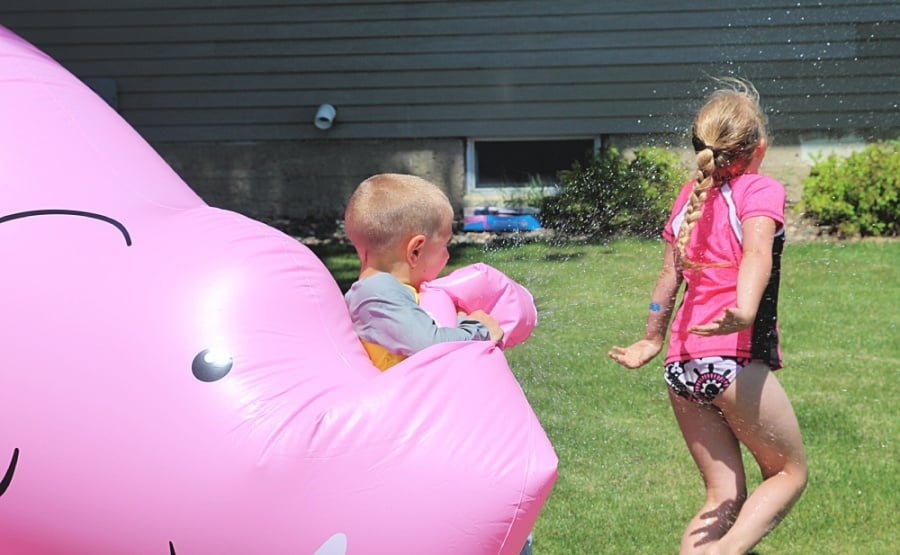 How To Host A Successful Sibling Birthday Party - Giant Sprinkler