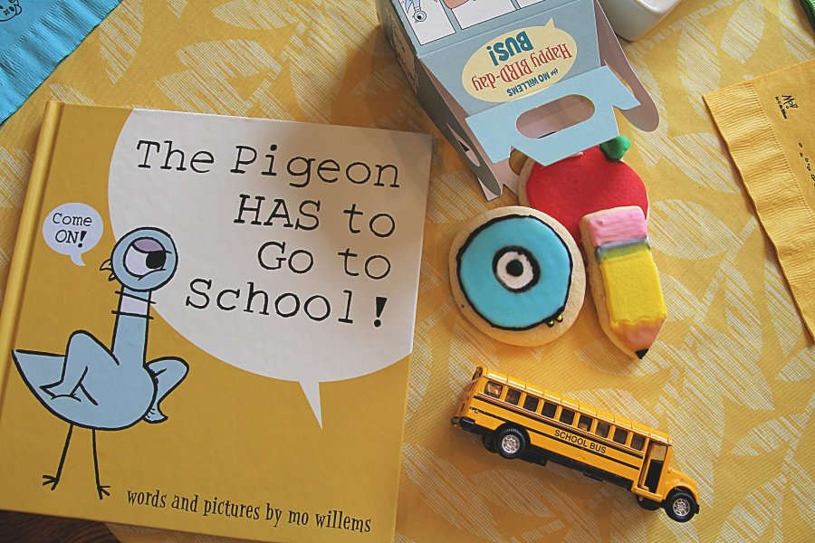 The Pigeon HAS to Go to School! Now Available + Sugar Cookie Recipe