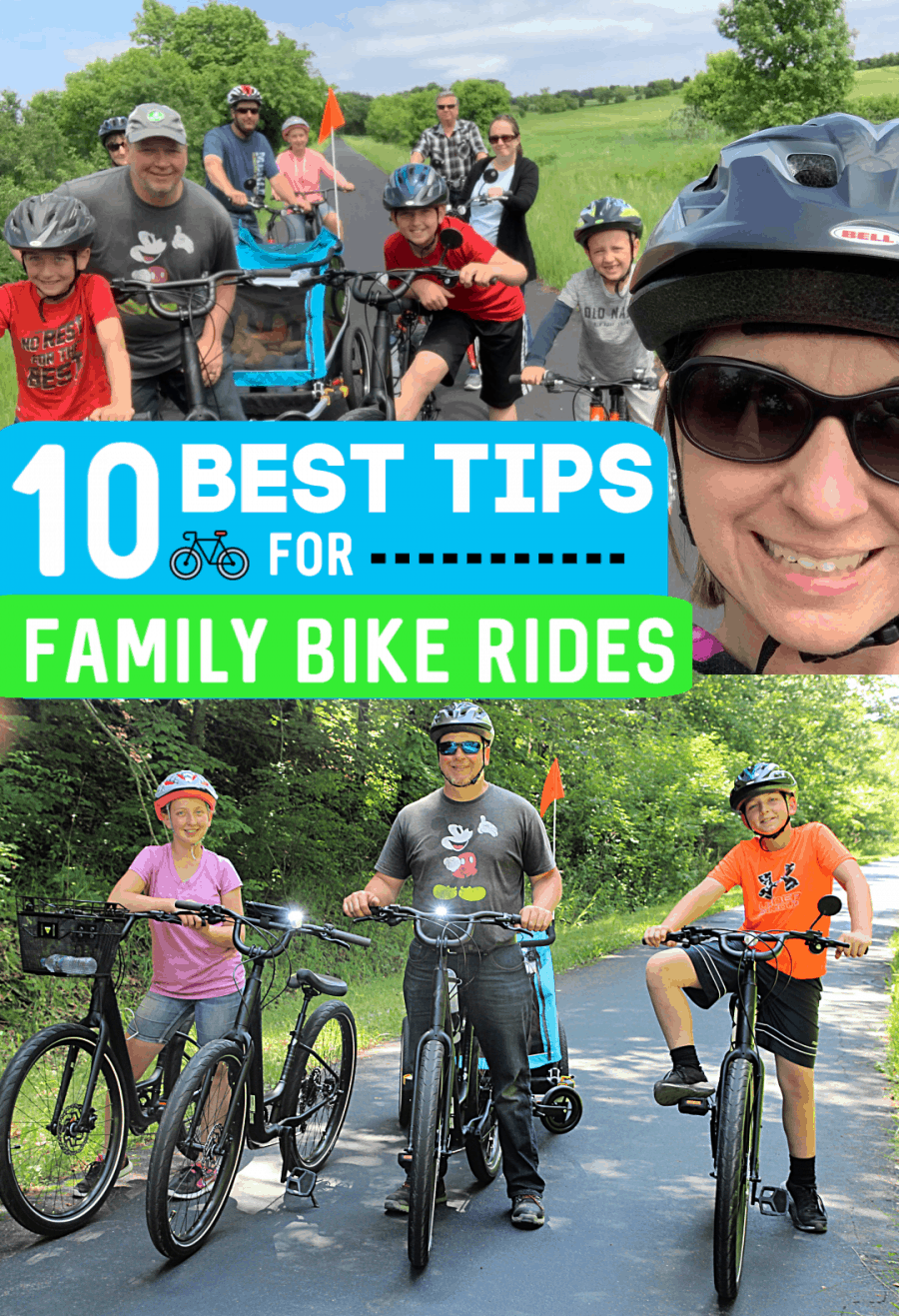 10 Best Tips for Family Bike Rides