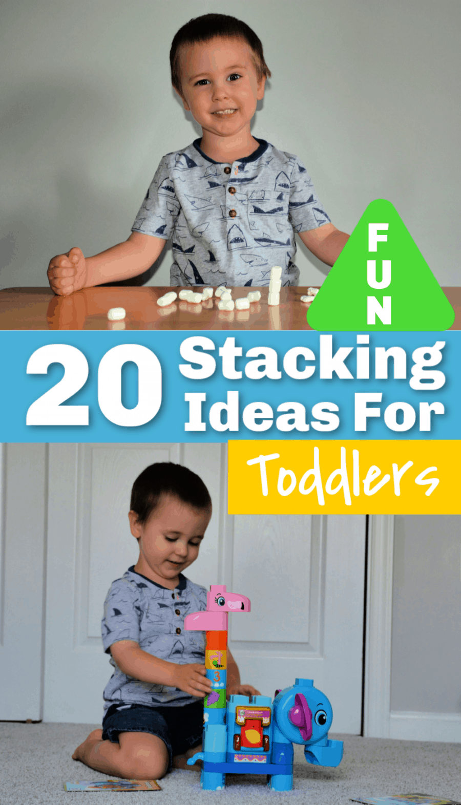 20 Stacking Ideas For Toddlers