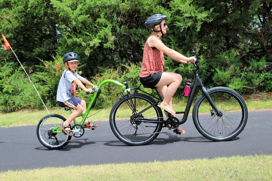 Burley Piccolo Trailercycle Review ~ Tagalong Bike For Kids