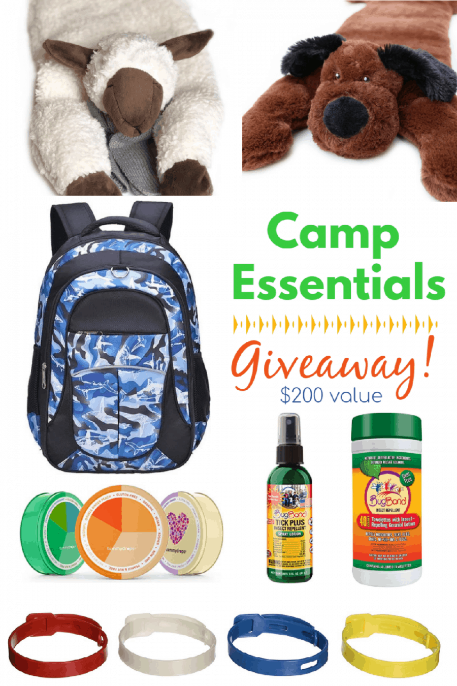 Camp Essentials Giveaway! Enter to win a variety of gear, valued at almost $200!