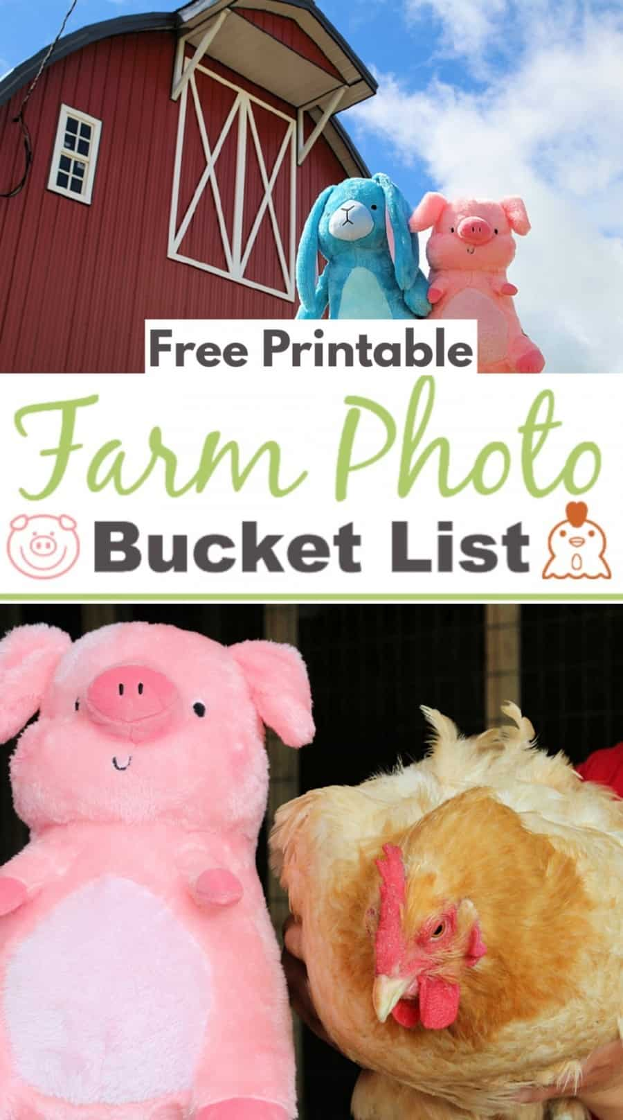 Free Printable Farm Photo Bucket List + Hamilton & Eleanor On Kickstarter