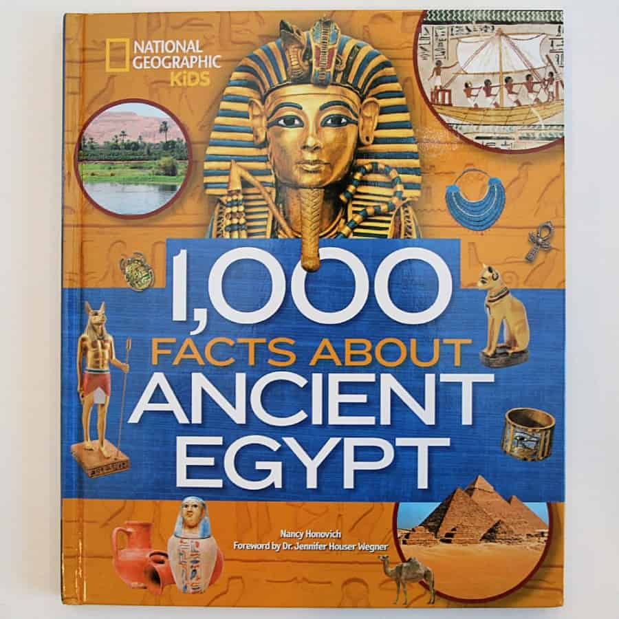 National Geographic Explorer Academy Kids Books 1& Ancient Egypt Book: Learn amazing fun facts that you didn't know!