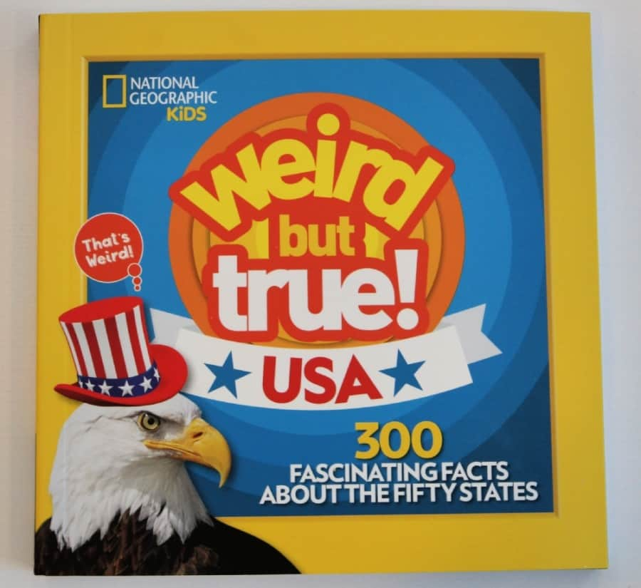 National Geographic Explorer Academy Kids Books - & Weird But True! USA: Fun facts about the United States