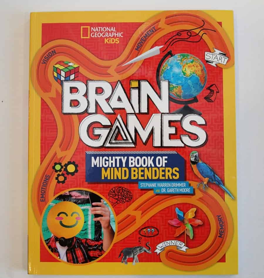 National Geographic Explorer Academy Kids Books & Brain Games Book: Fun games, puzzles, and activities for your pleasure.