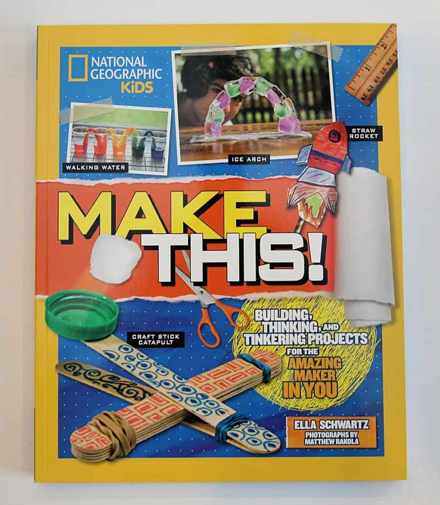 National Geographic Explorer Academy Kids Books & Make This! Craft and Activity Book