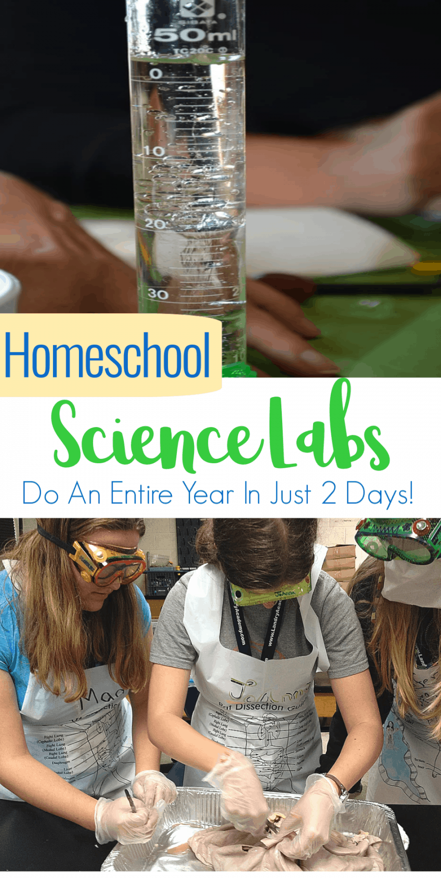 You Don't Have To Homeschool Alone! - College Prep Science Labs - Fill an entire years worth of science lab requirements in just 2 DAYS! (Classes throughout the US now filling.)