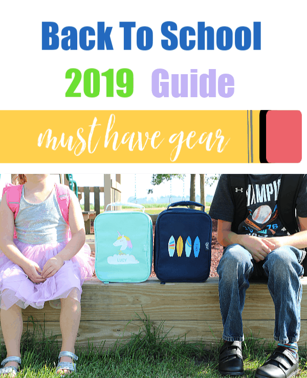 2019 Back To School Gear Guide - Don't Forget These Great Brands!
