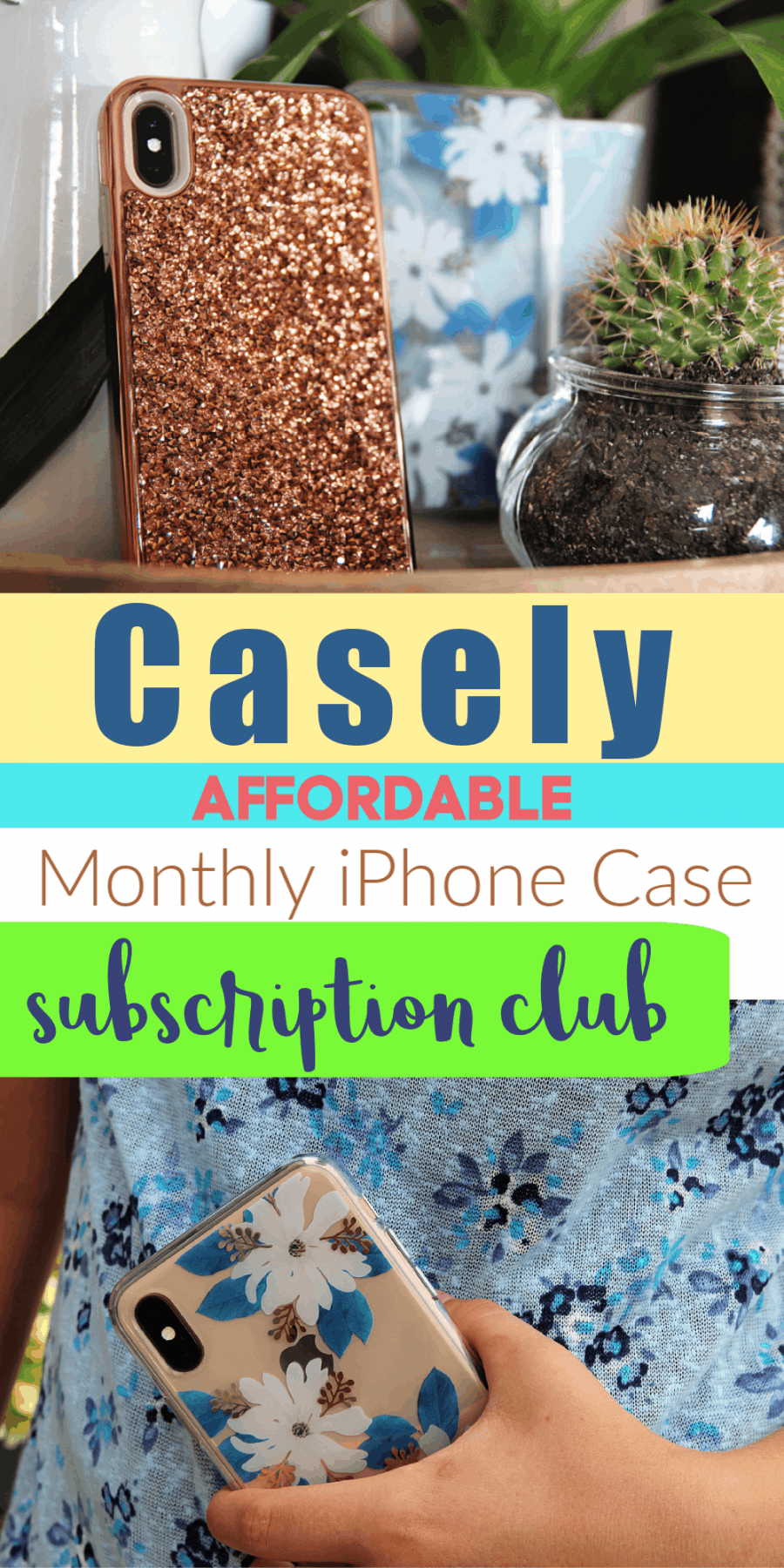Casely - The First & Only iPhone Case Monthly Subscription Club!