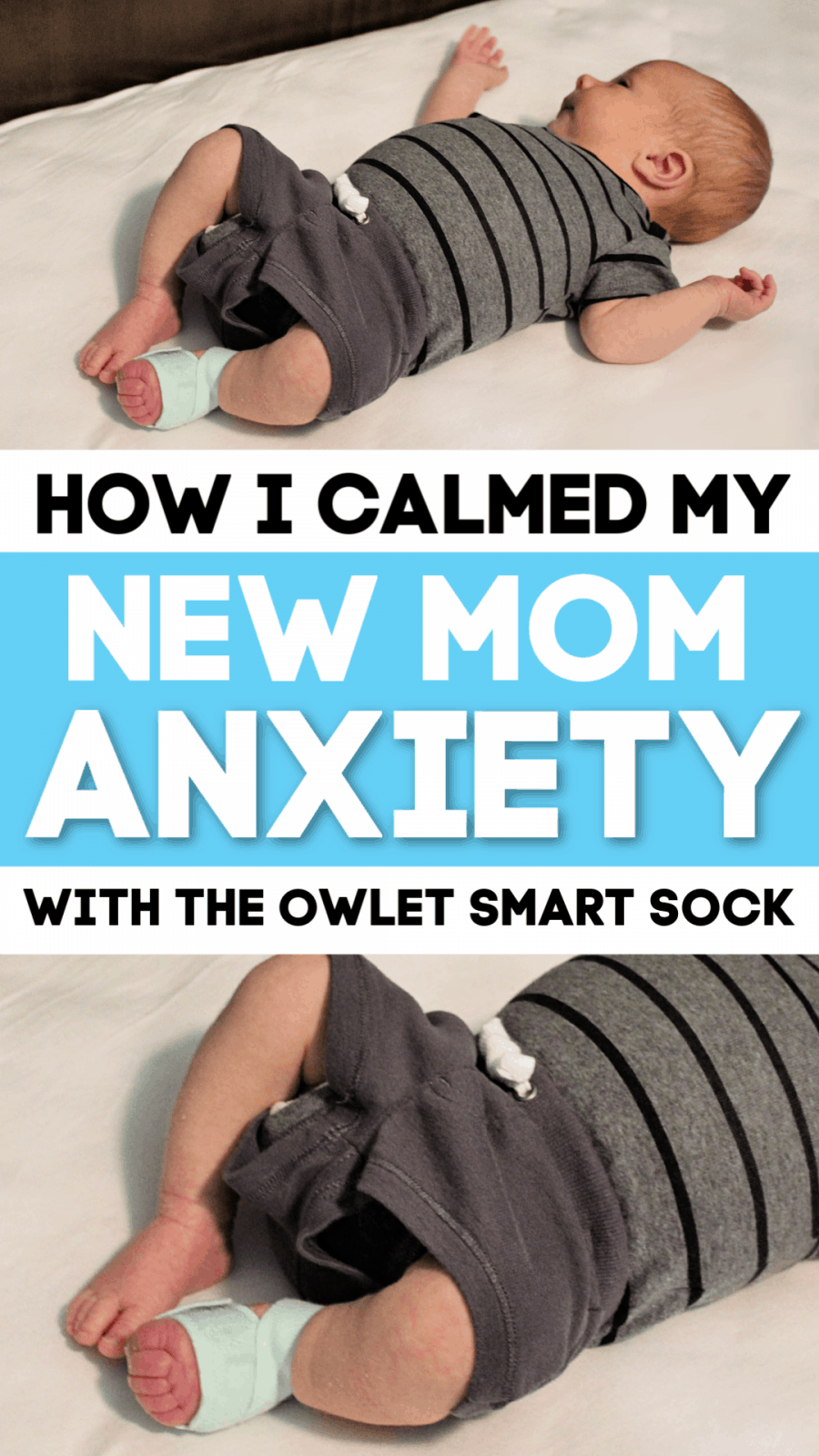 How I Calmed My New Mom Anxiety
