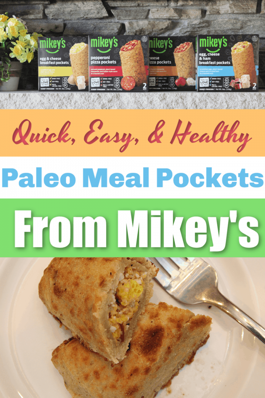 Mikey's Paleo Breakfast Pockets: An easy, Delicious, On-The-Go Meal