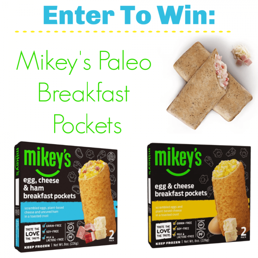 Mikey's Paleo Breakfast Pockets: An easy, Delicious, On-The-Go Meal Giveaway