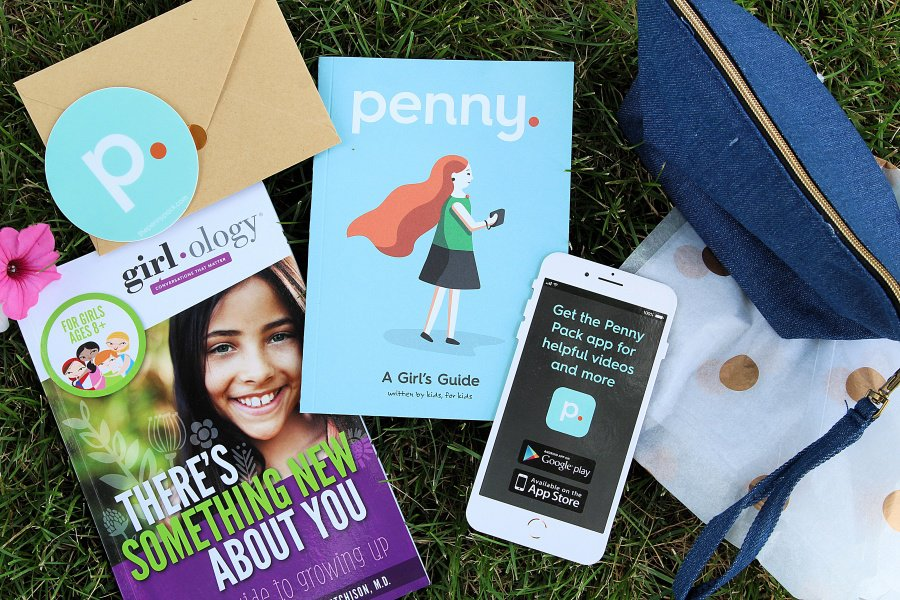Period Talk - How To Prepare Your Daughter For Her First Period {With The Penny Pack}