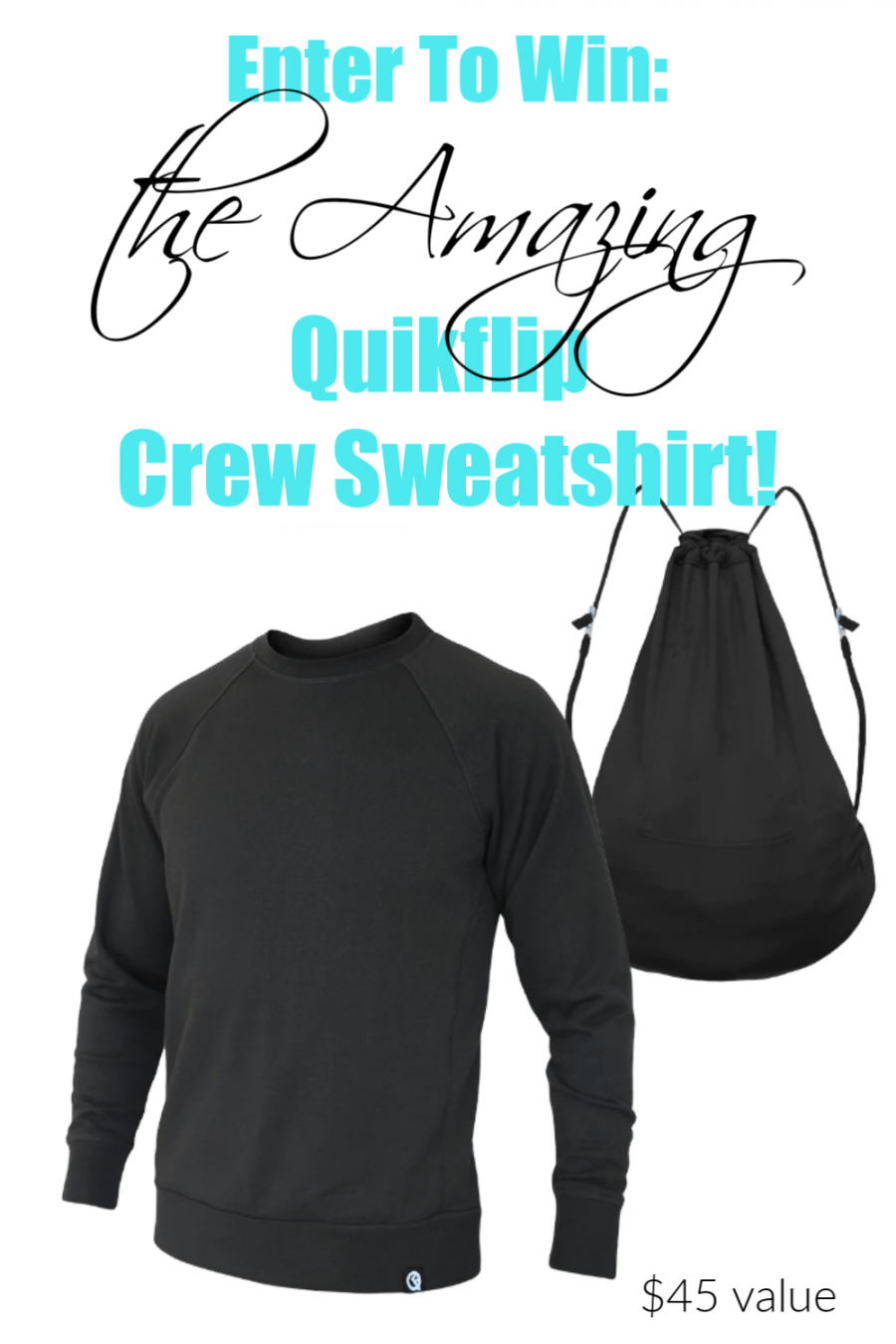 Quikflip Sweatshirt Review & Giveaway