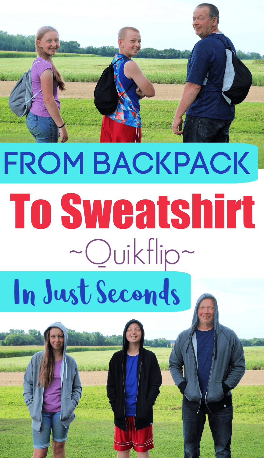 Quikflip Sweatshirt Review - You Will NOT Believe What This Sweatshirt Can Do!