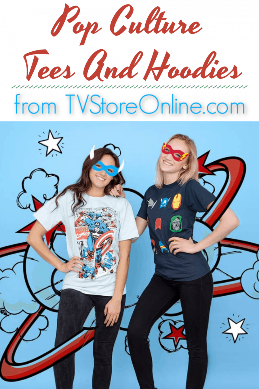 TVStoreOnline.com Pop Culture Tees And Hoodies {Perfect For Back To School}