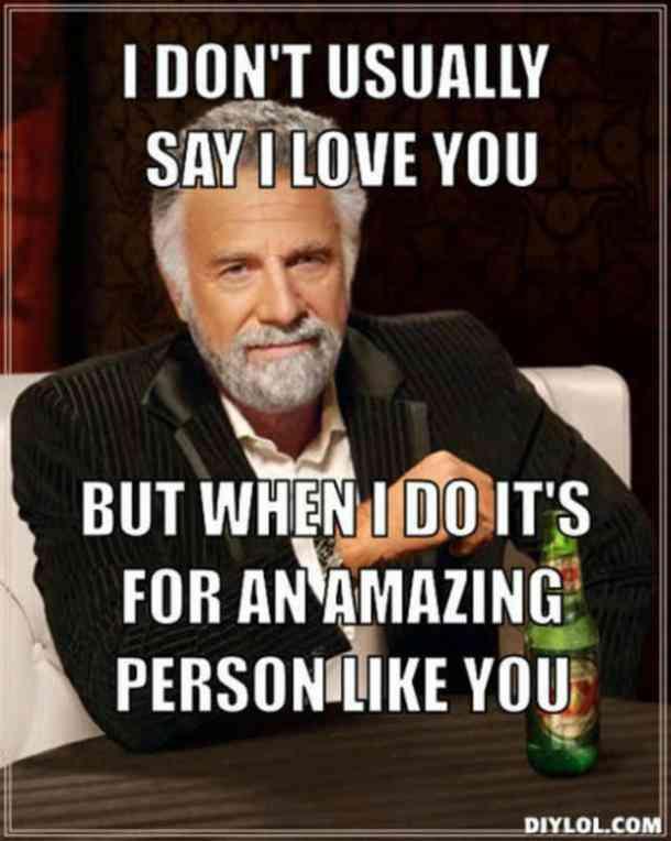 Funny I Love You Memes