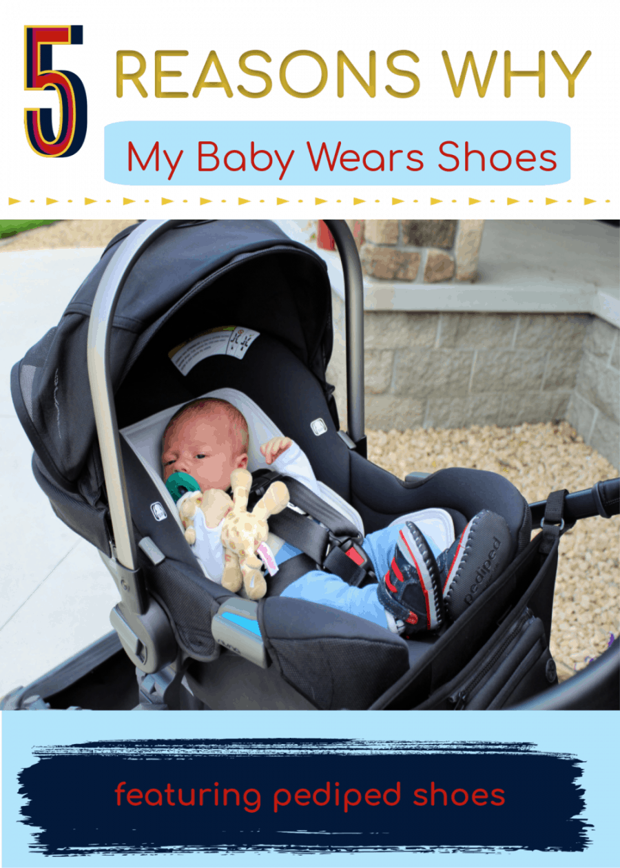 reason why my baby wears shoes