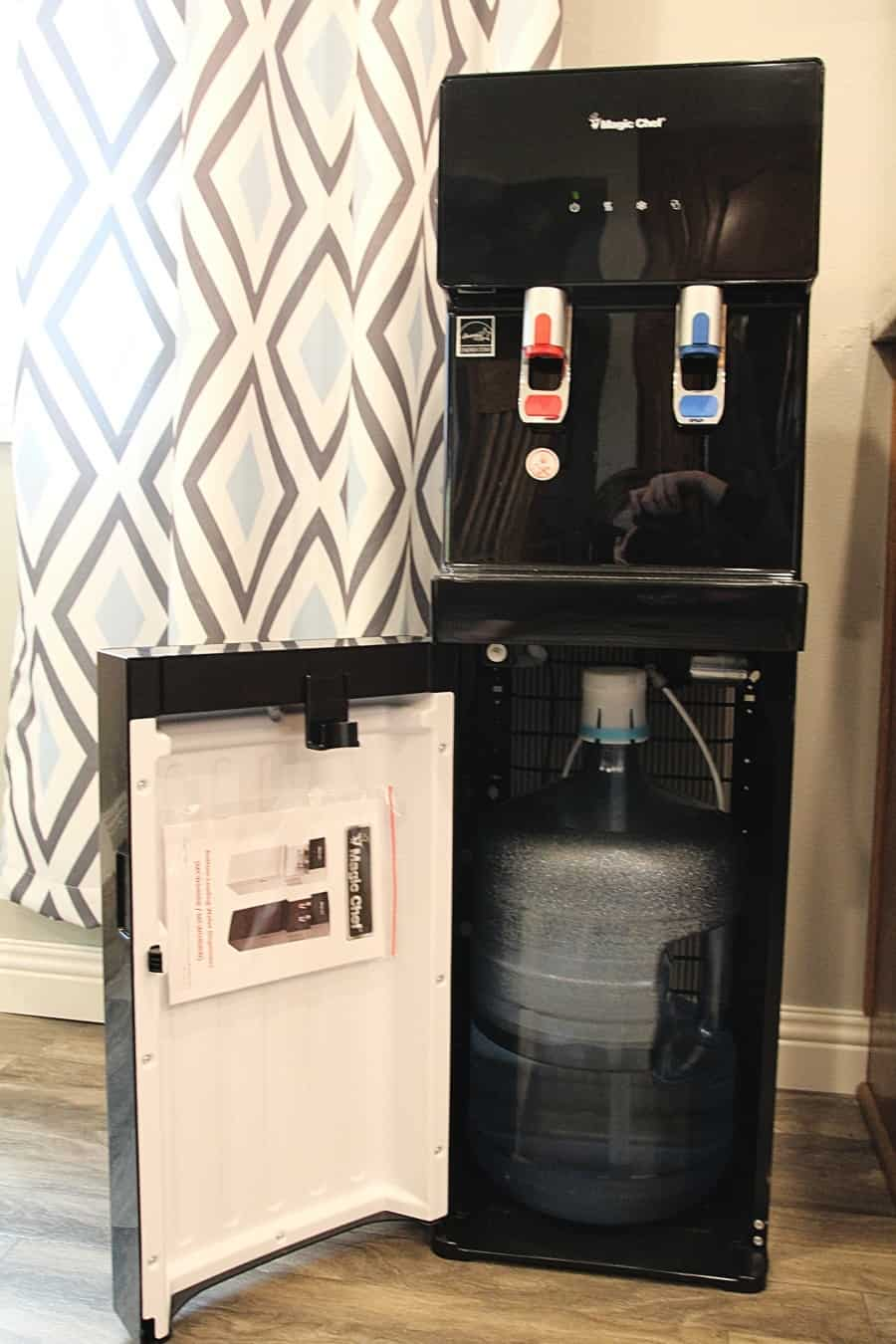 11 Simple Hacks To Help You Drink More Water {+ NewAir Water Dispenser Review}