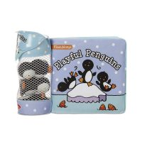 Melissa and Doug Playful Penguins (Bath Book + 3 Floating Penguin Toys)