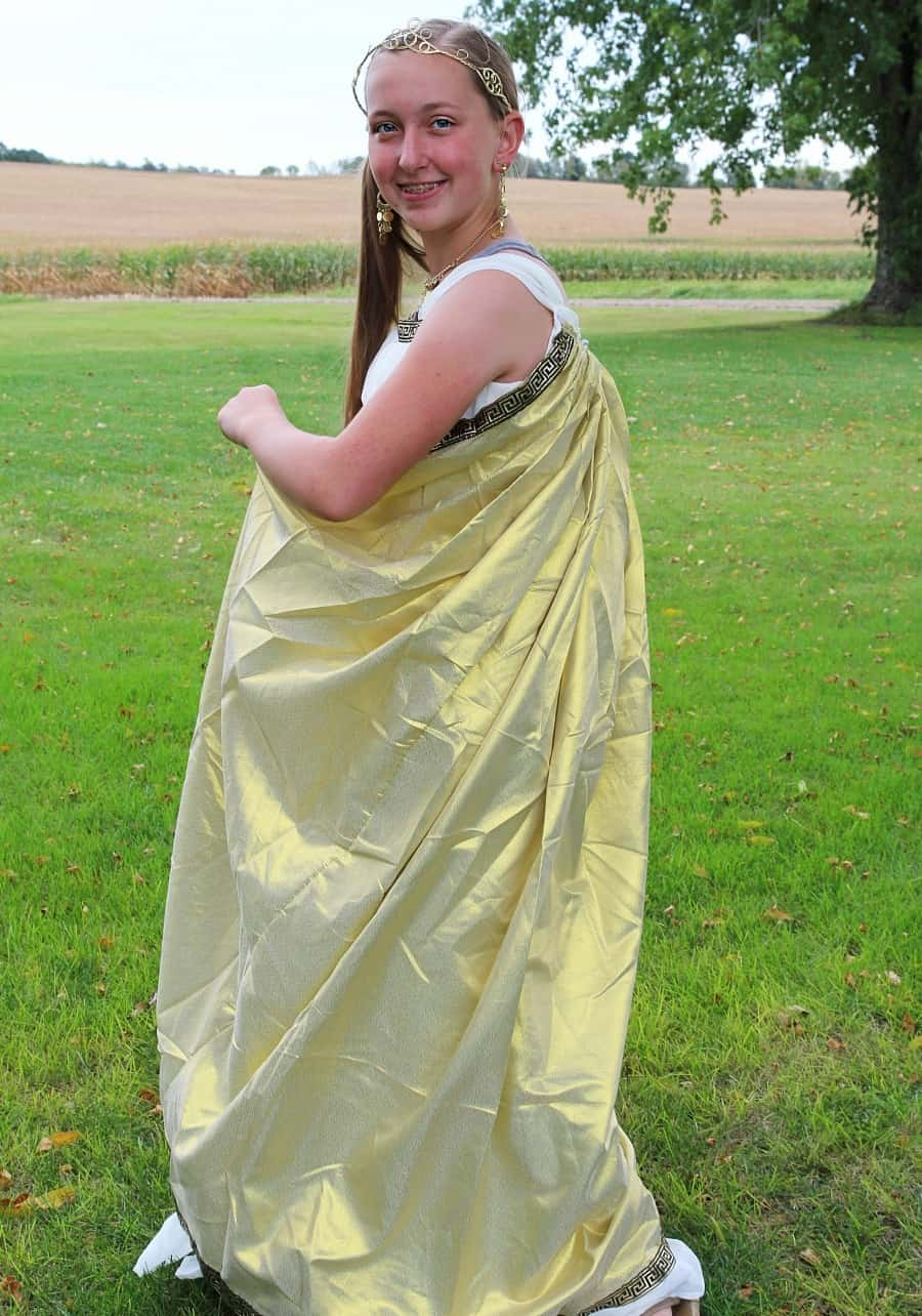 Chasing Fireflies Unique Halloween Costumes For Kids Greek Goddess