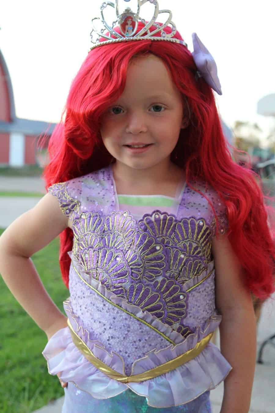 Chasing Fireflies Unique Halloween Costumes For Kids Disney Princess Ariel the Mermaid