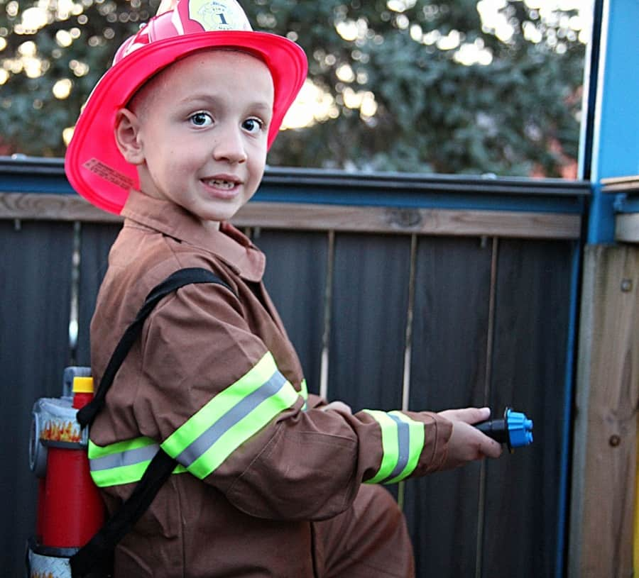 Chasing Fireflies Unique Halloween Costumes For Kids Jr. Firefighter