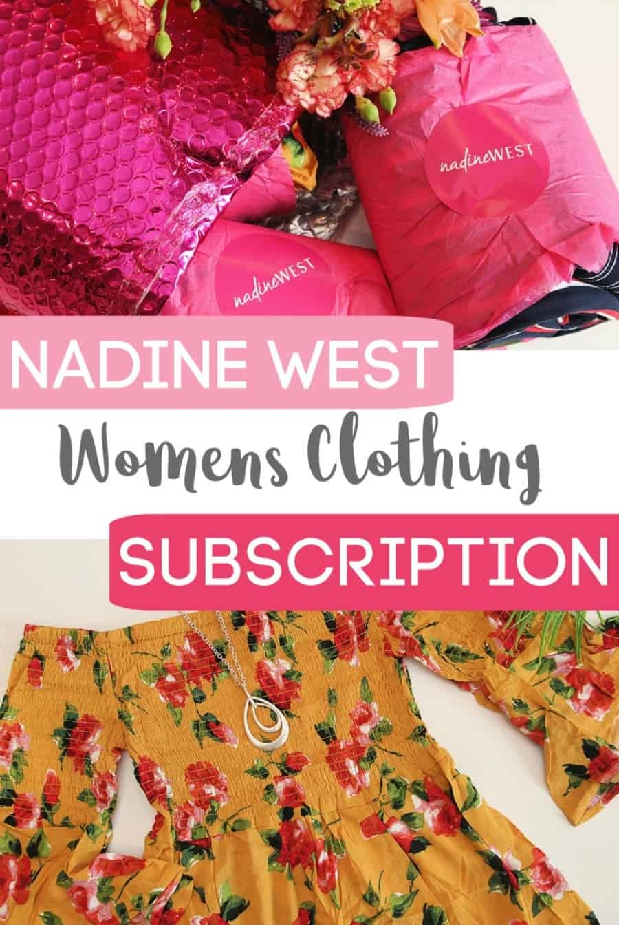 Nadine West Womens Clothing Subscription - September Box Reveal