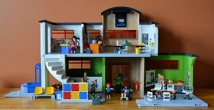 Playmobil School Building