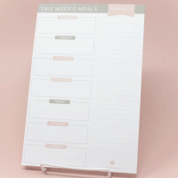 Meal Planning Pad with Magnets